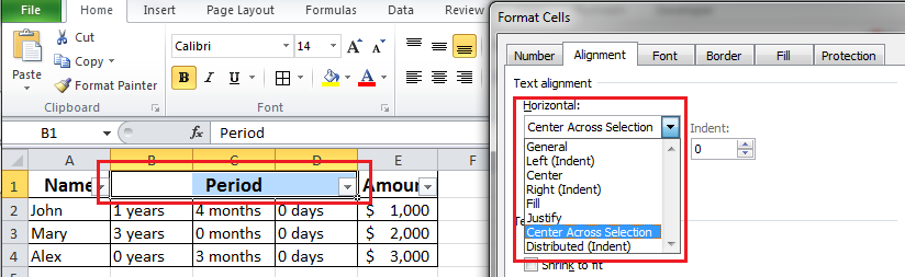 Merge Cells in Excel the Right Way